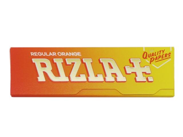 Χαρτάκια στριφτού RIZLA πορτοκαλί orange 60 φύλλα