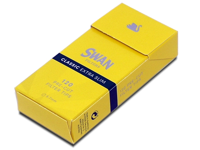 ��������� Swan Classic Extra Slim filter tips 5,7mm