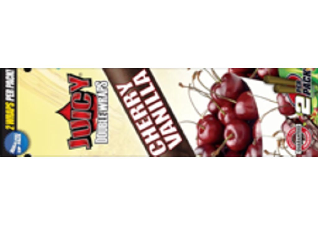 JUICY BLUNT TUBE CHERRY - VANILIA