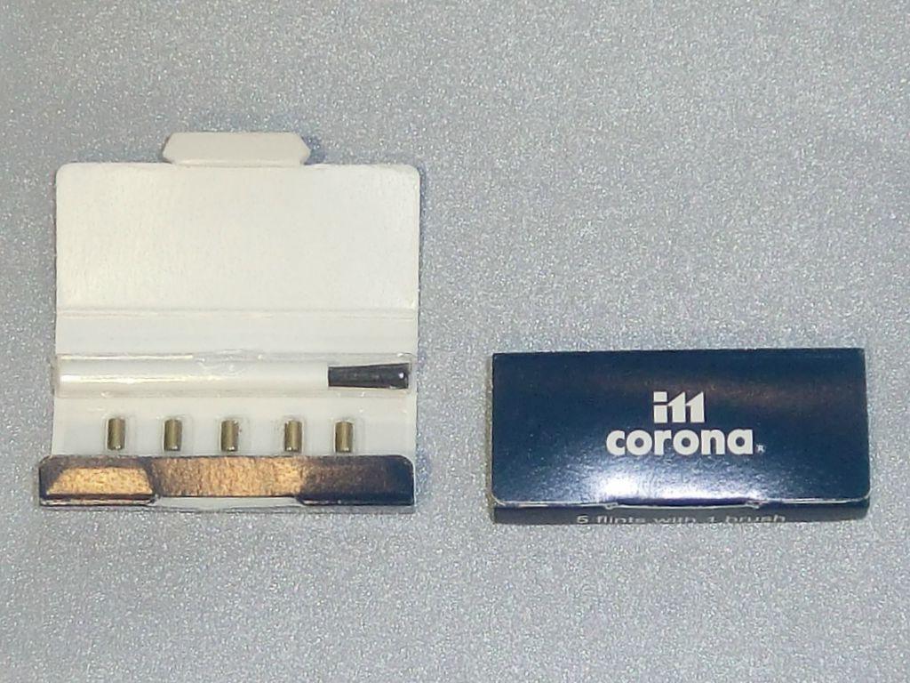 Πέτρες αναπτήρων CORONA (Made In Japan)