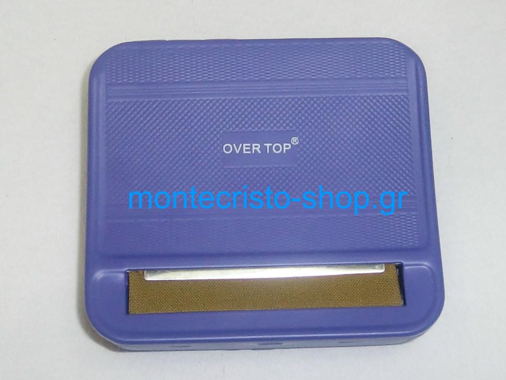 """311 - Ταμπακιέρα στριφτού OverTop """"μωβ"""" , για 5,3mm και 5,7mm"""