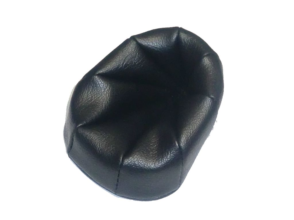 372 - Βάση για μία πίπα από μαύρο τεχνόδερμα
