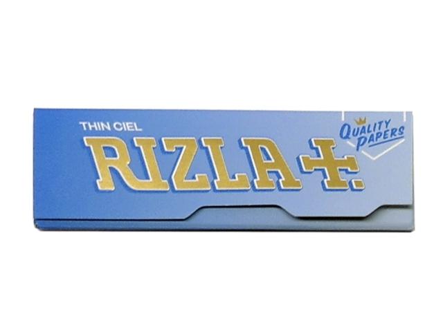 Χαρτάκια RIZLA ciel γαλάζια Limited edition στριφτού Τσιγάρου 60 φύλλα