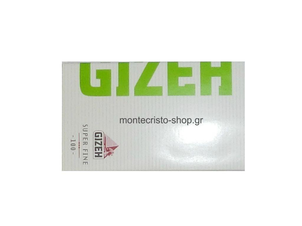 Χαρτάκια στριφτού GIZEH Super Fine με μαγνήτη 100 φύλλα GIP064