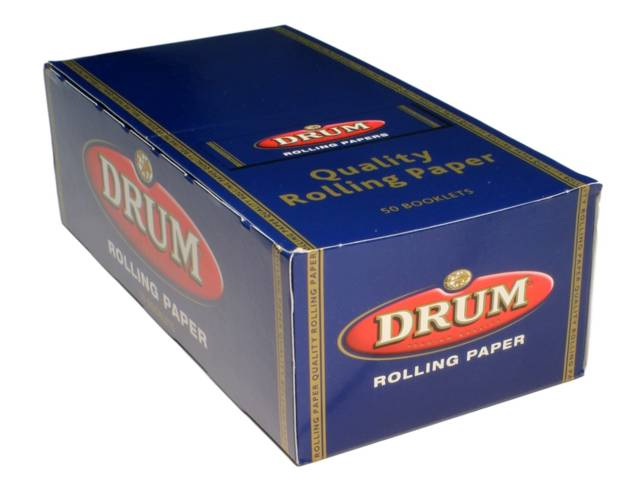 Χαρτάκια Drum, κουτί των 50 τεμαχίων