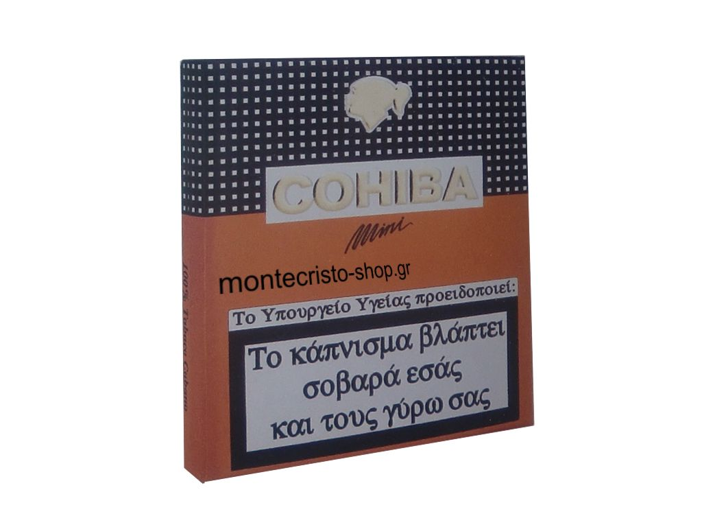 Cohiba mini 10's cigarillos