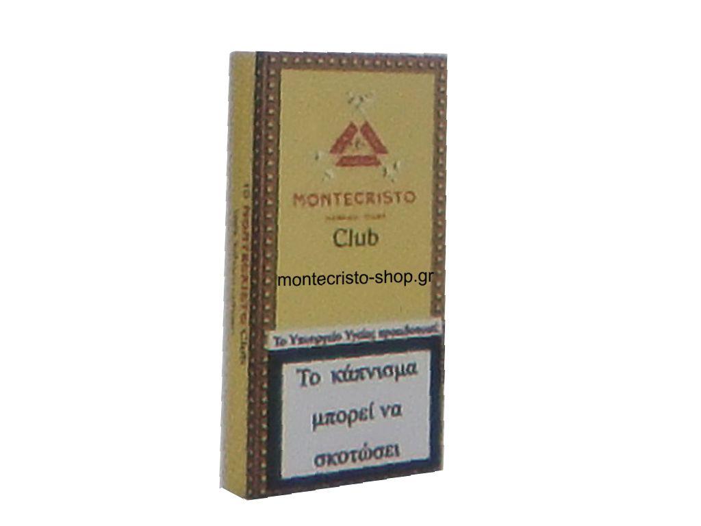 581 - Montecristo club 10s cigarillos