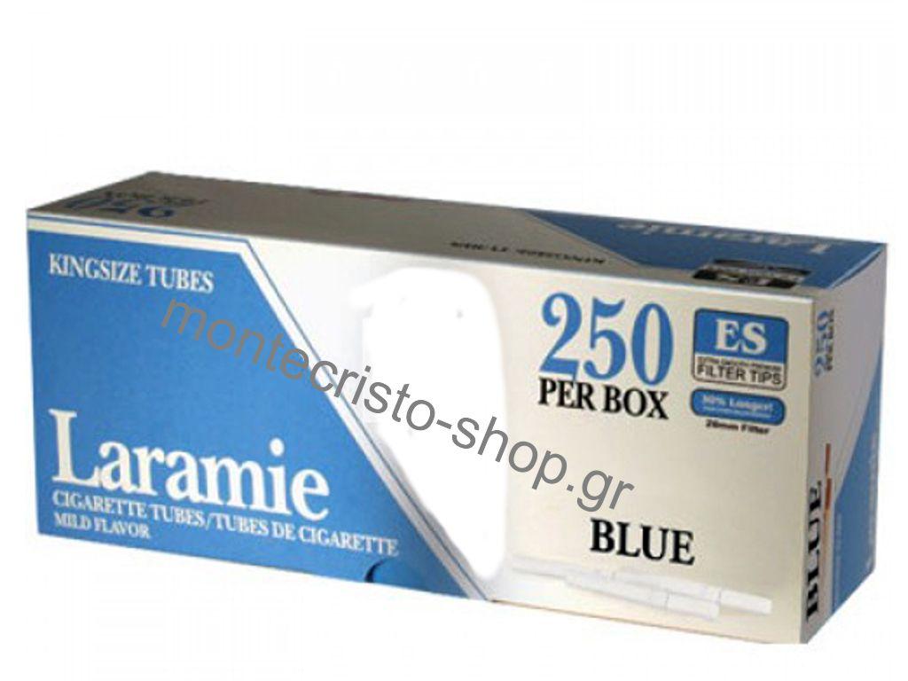 Αδεια τσιγάρα Laramie blue (ελαφρύ) 250 τεμ.