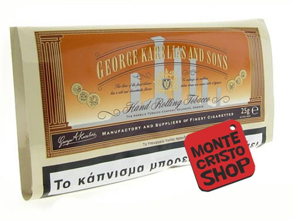 479 - Καπνός στριφτού Karelias κανονικός καφέ 30gr