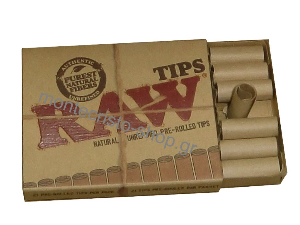 ������� Raw Tips Prerolled ������������ ��� �� 21 ��������