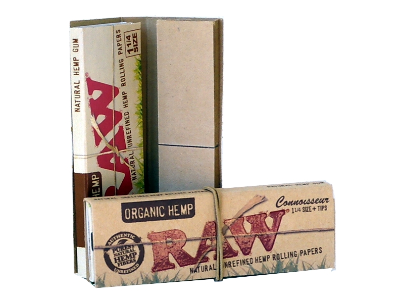 ������� RAW ORGANIC Connoisseur 1 ��� 1 ������� ��� tips 32 ����� ��� 32 ��������