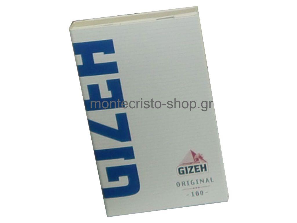 674 - Χαρτάκια στριφτού GIZEH ORIGINAL με μαγνήτη 100 φύλλων GIP044
