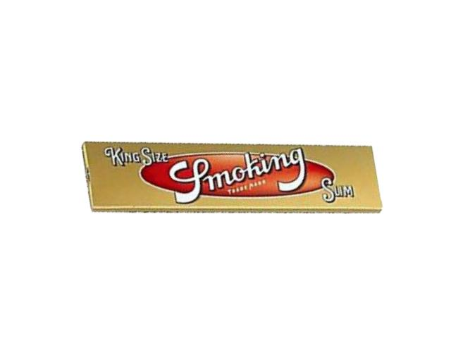Χαρτάκι Smoking Gold SLIM king size 33φύλλα