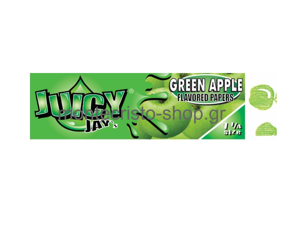 Juicy Jays Green Apple ������� ���� 1 1/4 ������ ��������