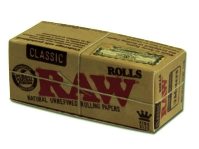 846 - Ρολλό Raw Classic KS ακατέργαστο 3 μέτρα, 5cm