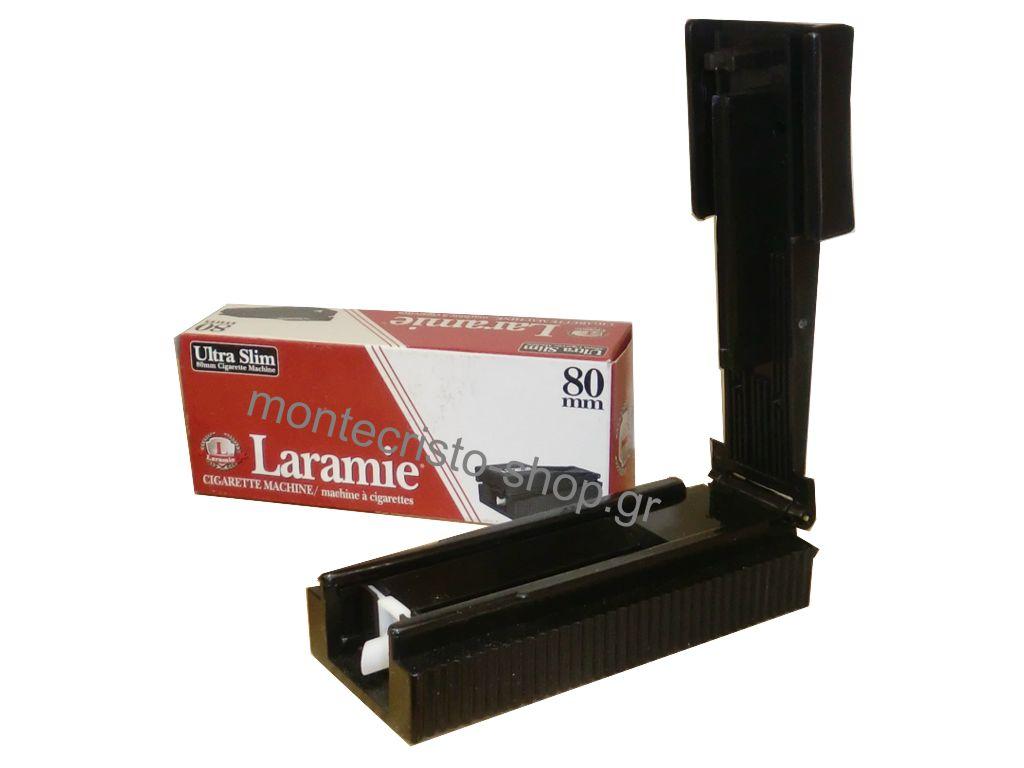 1050 - Μηχανή για σωλήνες λεπτούς Laramie Ultra Slim cigarette machine 70mm