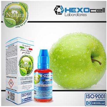 Υγρό αναπλήρωσης Natura Green Apple - Πράσινο Μήλο 30 ml