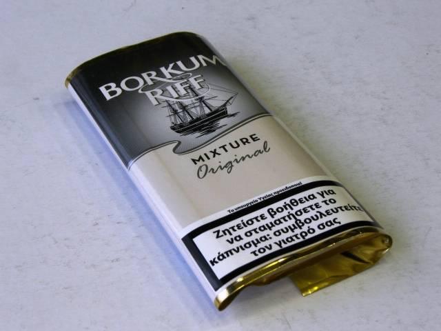 934 - Καπνός πίπας BORKUM RIFF ORIGINAL 40g