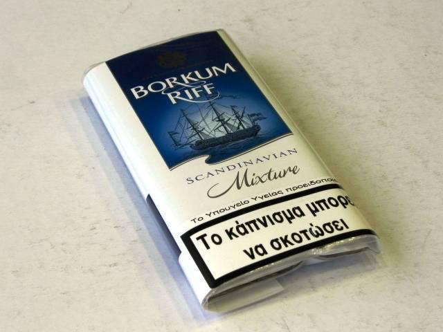 935 - Καπνός Πίπας BORKUM RIFF SCANDINAVIAN 40g