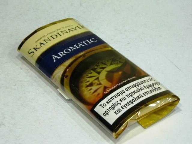 Καπνός πίπας SKANDINAVIK NAVY (SKANDINAVIK AROMATIC) 40g