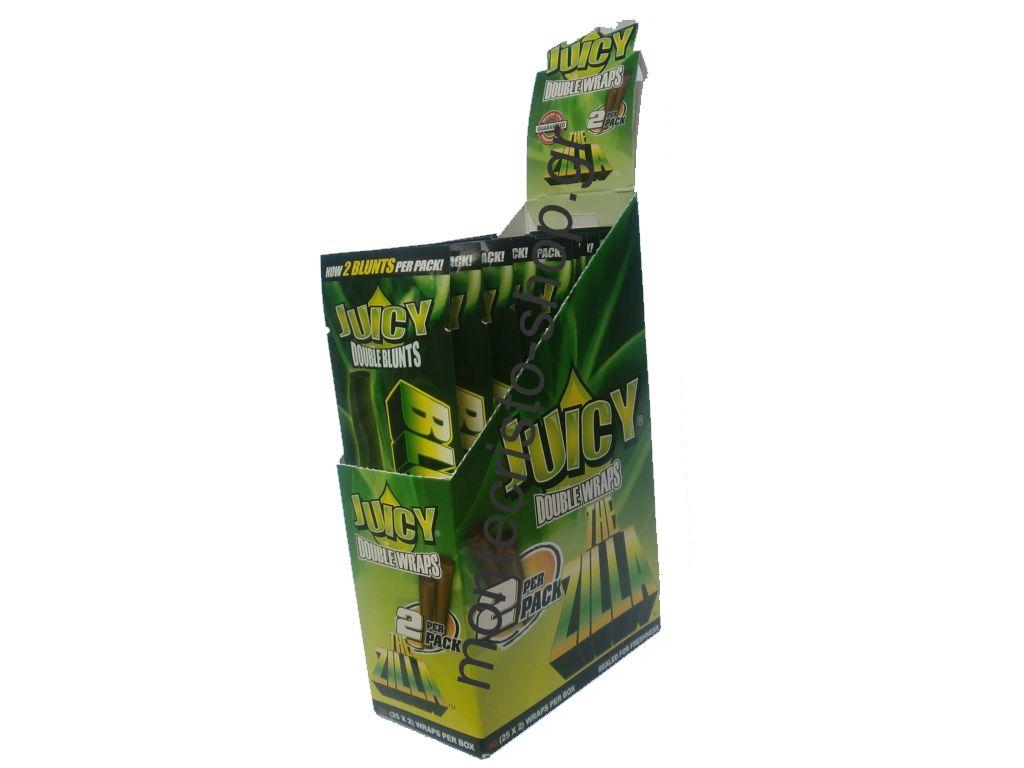 1259 - Πουρόφυλλα Juicy Jays BLUNTS Bluntzilla Κουτί 25τεμ €0.49 το ένα