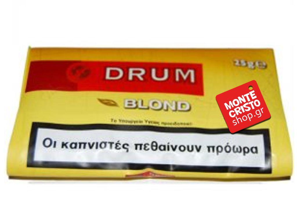 1269 - Καπνός Στριφτού DRUM YELLOW 30gr