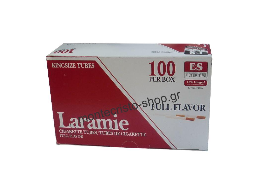 Κενά τσιγάρα Laramie Tubes Foul Flavor 100 84mm, κουτί με 100 άδεια τσιγάρα