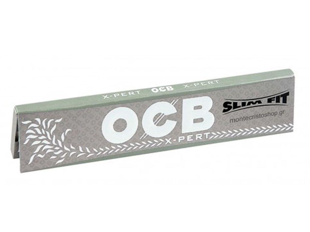 1319 - Χαρτάκια OCB XPERT SLIM FIT King Size ασημί