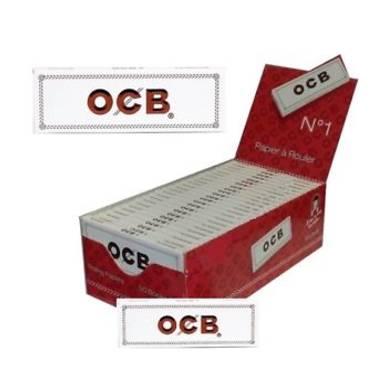 Χαρτάκι OCB άσπρο white κουτί 50 τεμαχίων 50 φύλλων ΠΡΟΣΦΟΡΑ