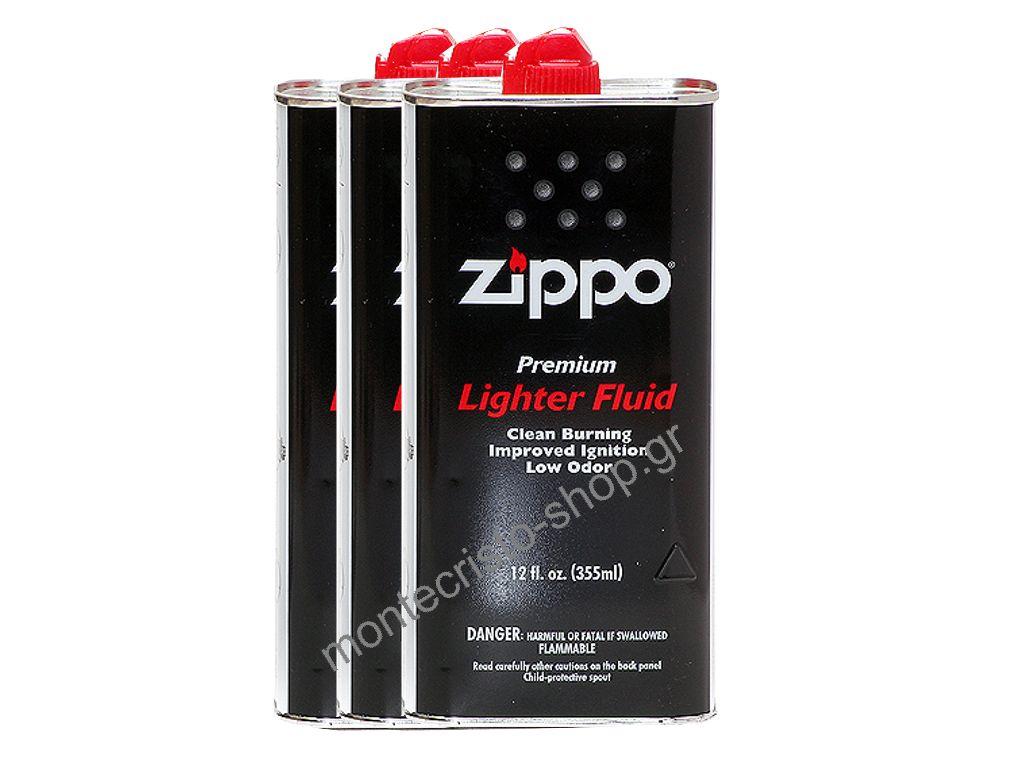 Σετ με 3 Zippo υγρό, Ζιπέλαιο 355ml