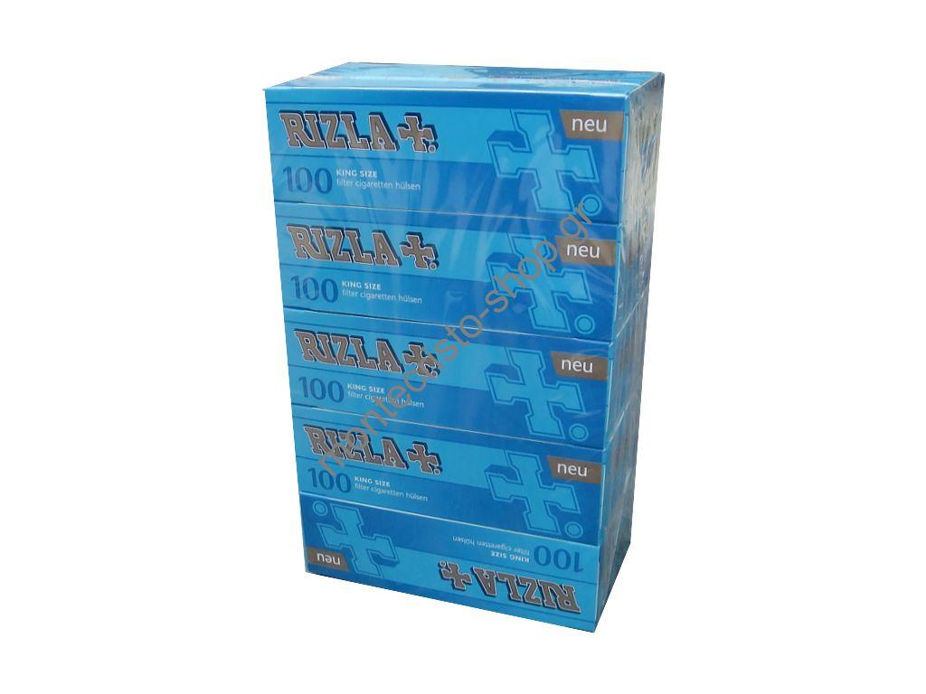 Σετ με 5 άδεια τσιγάρα RIZLA TUBES με τιμή (0.62 το κάθε τσιγάρο) για γέμισμα