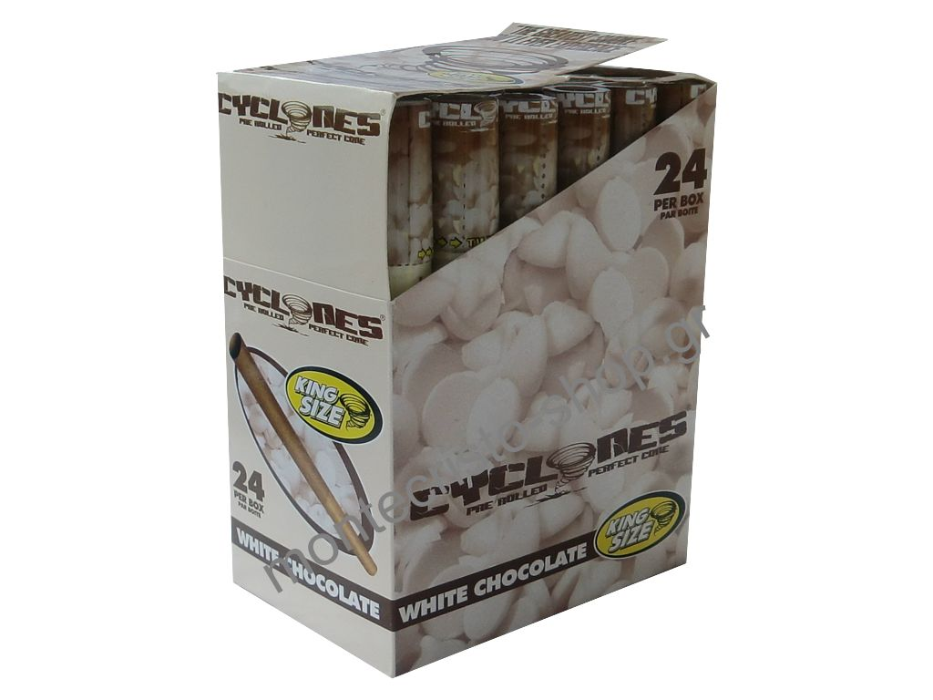 1568 - ����� �� 24 ������ Cone CYCLONE Blunt White Chocolate ����� �������� 0,43 � ���
