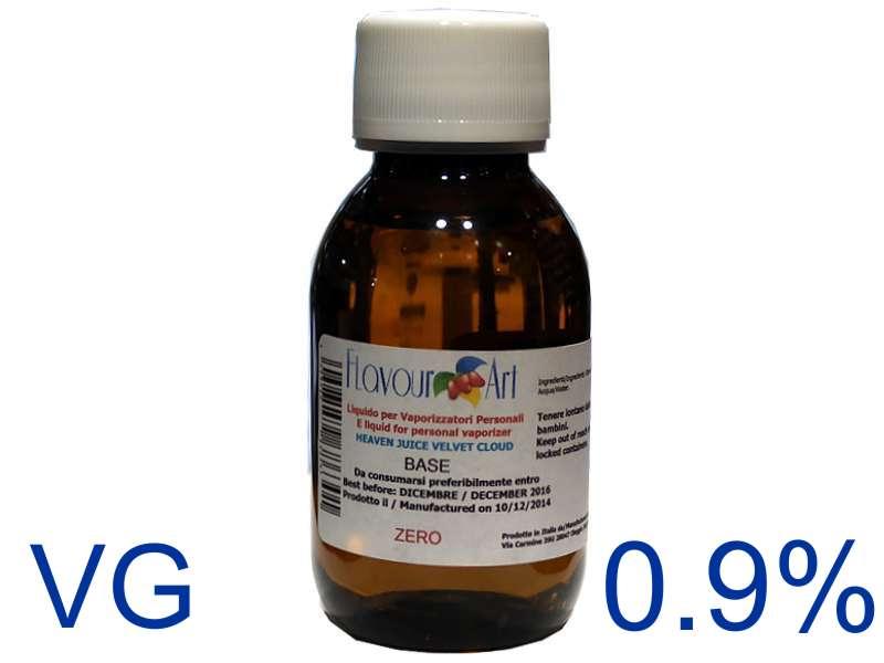 Ατμιστική φυτική βάση flavour art Velvet Cloud 0.9% νικοτίνη (VG) ποσότητα 100ml
