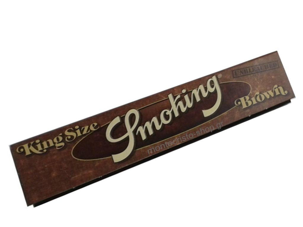 Χαρτάκια Smoking Brown unbleched king size 33φύλλα