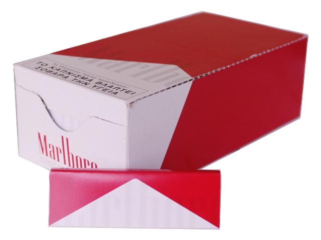Κουτί με 50 χαρτάκια Marlboro 60 medioum weight κόκκινο