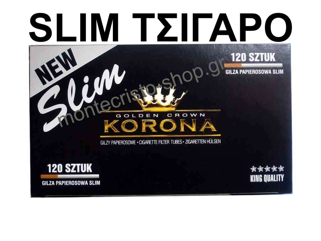 ����� ������� KORONA SLIM Golden Crown �� 120 �������������� ��� 80mm �����