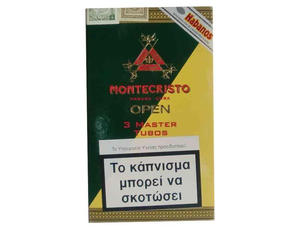 Πούρα Montecristo OPEN 3 MASTER TUBOS