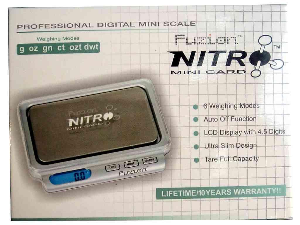 Ζυγαριά ακριβείας NITRO 0,1 με ακρίβεια 0,1