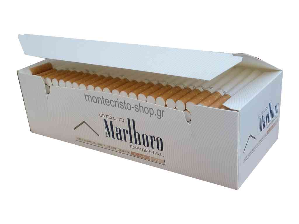 1935 - Κενά τσιγάρα Marlboro Gold Original King Size Tubes 200