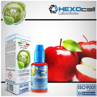 Υγρό αναπλήρωσης Natura - Κόκκινο μήλο 30ml