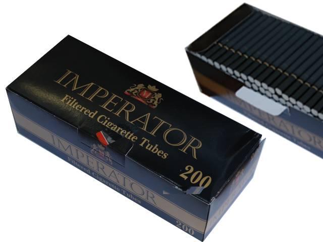 Άδεια τσιγάρα IMPERATOR 200 μαύρα