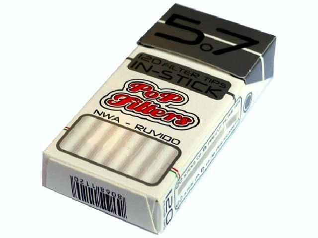 2170 - Φιλτράκια στριφτού PoP Filters in Stick 5.7mm 120