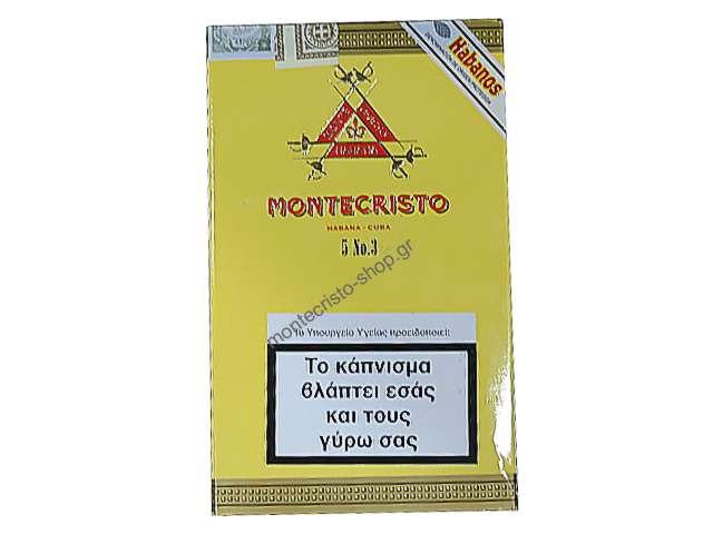 Πούρα MONTECRISTO No. 3, 5s