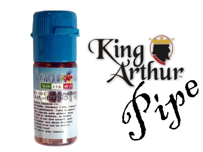 Υγρό αναπλήρωσης Flavour Art King Arthurs Pipe 10 ml