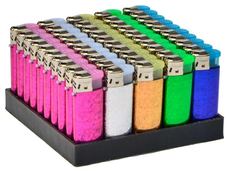 50 Αναπτήρες Atomic AT-Midi Glitter Heat Transfer ηλεκτρονικός σε 5χρώματα με τιμή 0.28 ο ένας