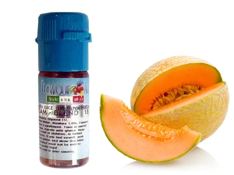 2377 - Υγρό αναπλήρωσης Flavour Art Melon Cantaloupe - ΠΕΠΟΝΙ Passion 10 ml