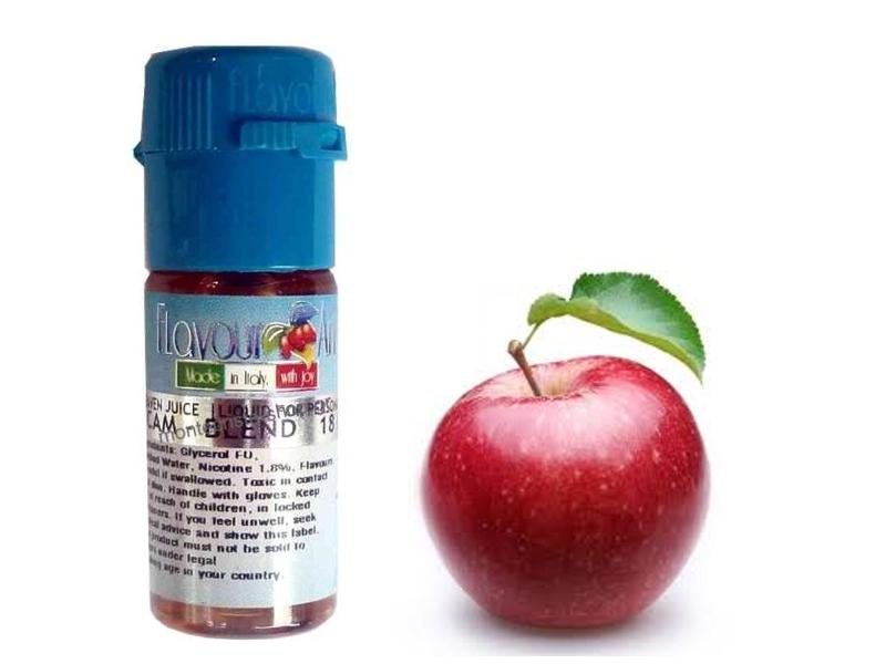 2380 - Υγρό αναπλήρωσης Flavour Art Μήλο (Stark 18%, Fuji 9%, Apple 0%) 10 ml