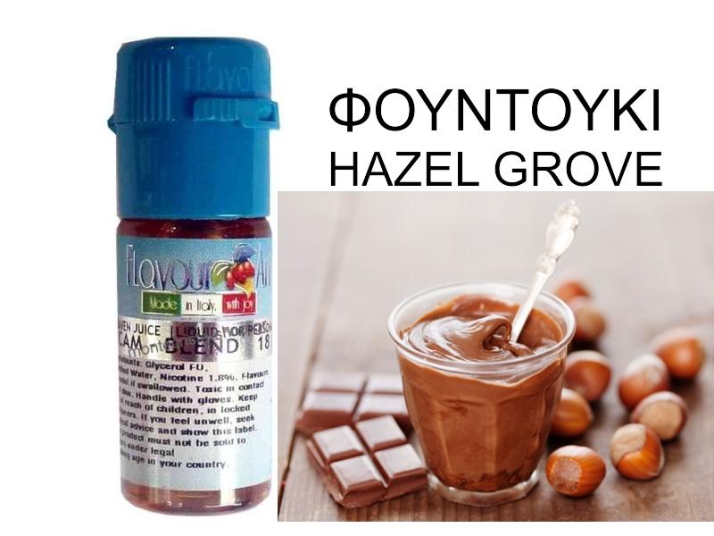 2393 - Υγρό αναπλήρωσης Flavour Art φουντουκι hazel grove 10 ml