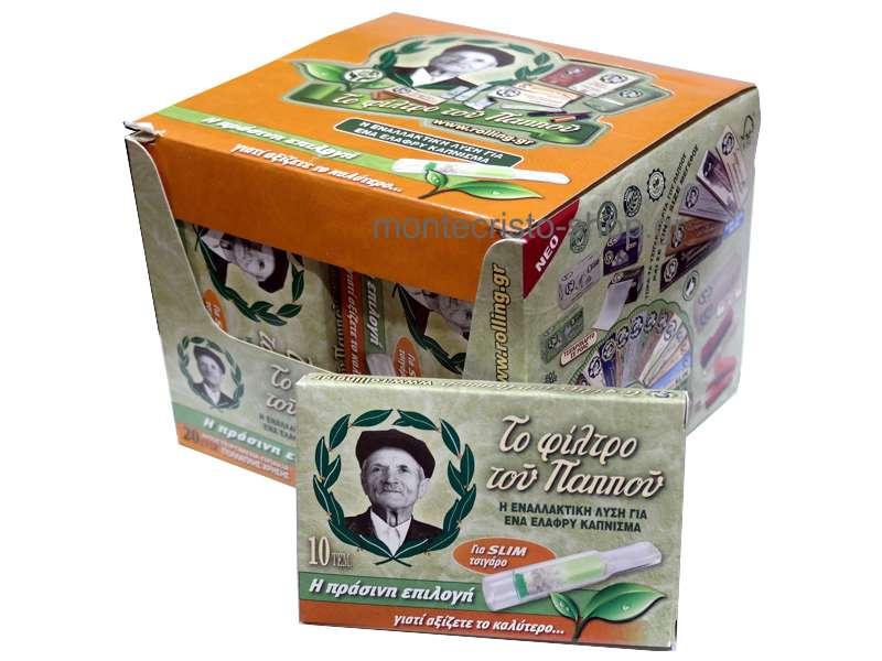 Κουτί με 20 πίπες του Παππού για slim τσιγάρο 42902-161