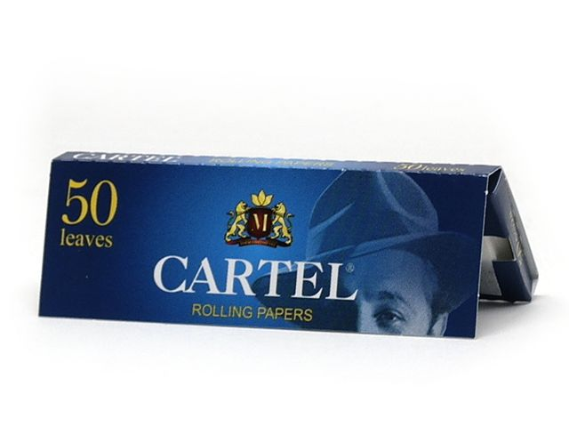 2430 - Χαρτάκια στριφτού Cartel Blue (ρυζόχαρτο)
